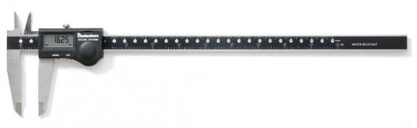 Digital-Messschieber, 200 mm, IP67, feinstbearbeitet, Feststellschraube, mit Anschluß Proximity-USB