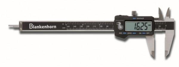 Digital Taschen-Messschieber für Linkshänder, Feststellschraube oben, 150x40mm